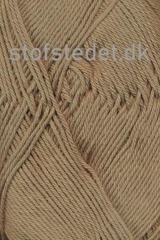 Cotton 8 Hjertegarn i Brun