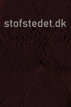 Cotton 8 Hjertegarn i Mørke brun