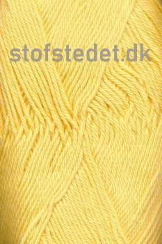 Cotton 8 Hjertegarn i Lys Gul