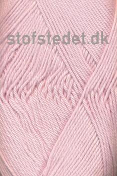 Cotton 8 Hjertegarn i sart støvet lyserød