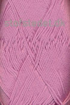 Cotton 8 Hjertegarn i Gl.rosa