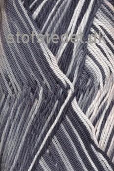 Cotton nr. 8 Print, sort/grå/hvid