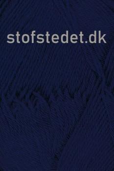 Cotton 8 Hjertegarn i Mørke blå