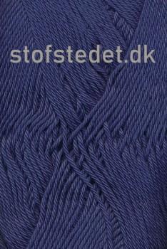Cotton 8 Hjertegarn i Støvet mørkeblå