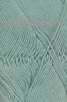 Cotton 8 Hjertegarn i Støvet grøn