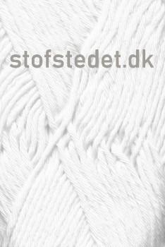Cotton 8/8 fra Hjertegarn i Hvid