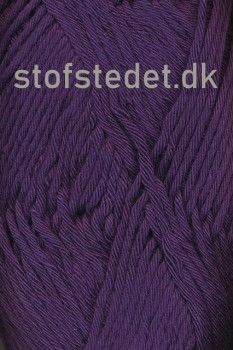 Cotton 8/8 Hjertegarn i Mørkelilla