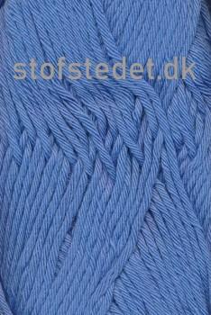 Cotton 8/8 Hjertegarn i Blå
