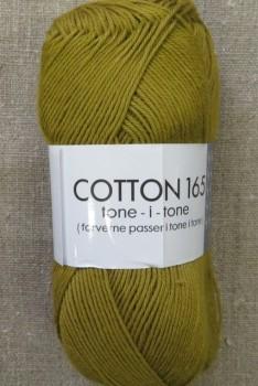 Bomuldsgarn Cotton 165 tone-i-tone i okker