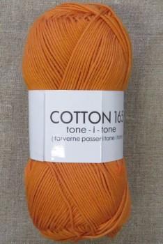 Bomuldsgarn Cotton 165 tone-i-tone i orange