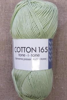 Bomuldsgarn Cotton 165 tone-i-tone i mint