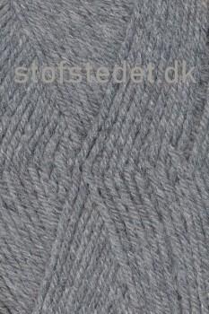 Deco acryl/uld i Lysegrå | Hjertegarn