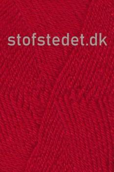 Deco uld/acryl i Rød | Hjertegarn