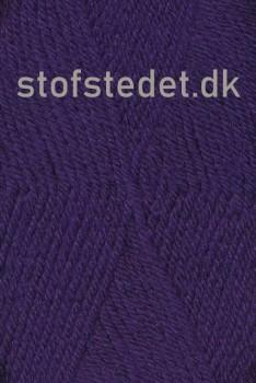 Deco acryl/uld i Mørkelilla | Hjertegarn