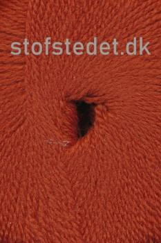 Hjerte Fine Highland Wool i rust | Hjertegarn