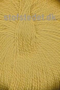 Hjerte Fine Highland Wool i støvet gul | Hjertegarn