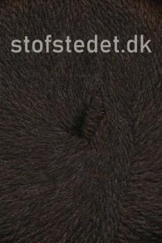 Hjerte Fine Highland Wool i Mørke brun | Hjertegarn