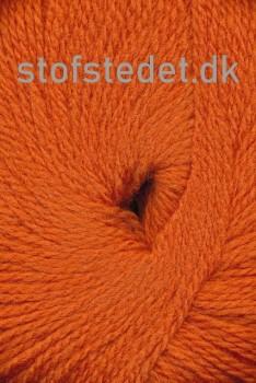 Hjerte Fine Highland Wool i Orange | Hjertegarn
