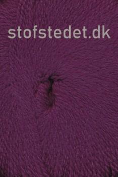 Hjerte Fine Highland Wool i Vinrød | Hjertegarn