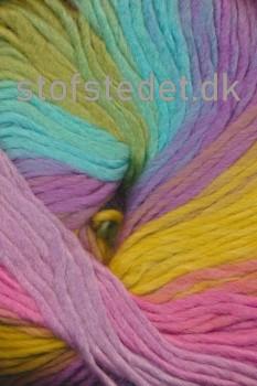 Incawool lys turkis/lime/lilla