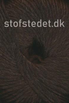 Incawool i 100% uld fra Hjertegarn i mørkebrun