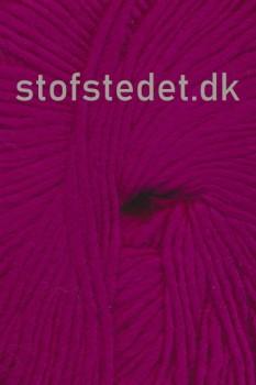 Incawool i 100% uld fra Hjertegarn i mørk pink/cerisse