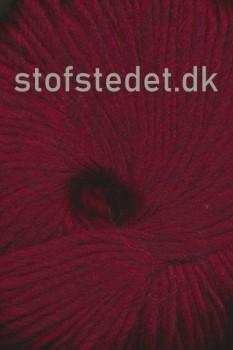 Incawool i 100% uld fra Hjertegarn i mørk rød