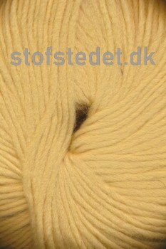 Incawool i 100% uld fra Hjertegarn i lys gul