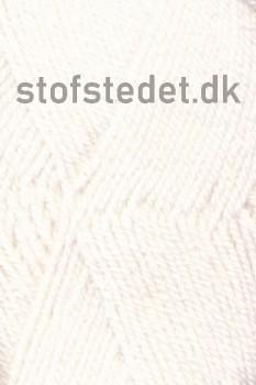 Jette acryl garn i Hvid | Hjertegarn