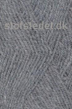 Jette acryl garn i Lysegrå