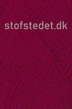 Jette acryl garn i Vinrød | Hjertegarn