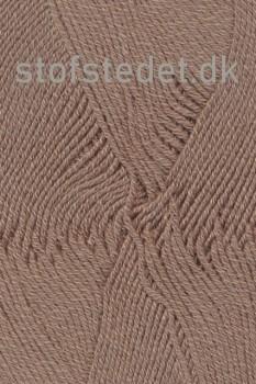 Lana Cotton 212- Uld-bomuld i Lysebrun