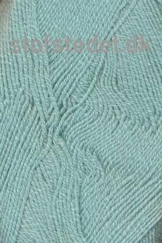 Lana Cotton 212- Uld-bomuld i meleret Lys Aqua