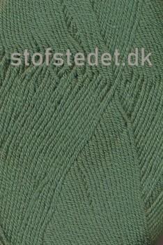 Lana Cotton 212- Uld-bomuld i Støvet grøn