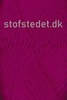 Lima 100% Peru uld fra Hjertegarn i Mørk pink