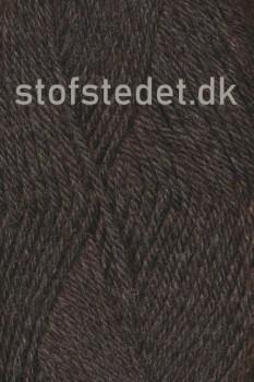 Lima 100% Peru uld fra Hjertegarn i Mørkebrun meleret