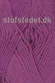 Lima 100% Peru uld fra Hjertegarn i Mørk rosa