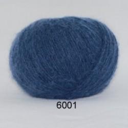 Hjerte Light Mohair fv. 6001 i støvet lavendel-blå
