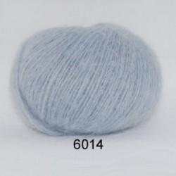 Hjerte Light Mohair fv. 6014 i støvet babylyseblå