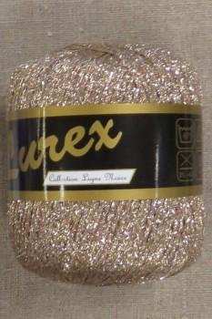 Lurex glimmer-garn, pudder-guld