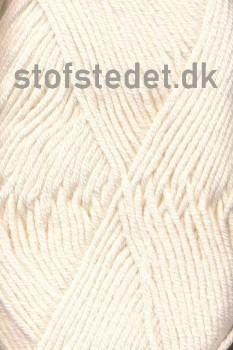 Merino Cotton - Uld/bomuld i Off-white