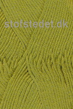 Merino Cotton - Uld/bomuld i Lime