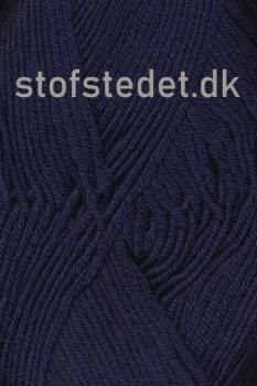 Hjertegarn | Merino Cotton - Uld/bomuld i Mørkeblå