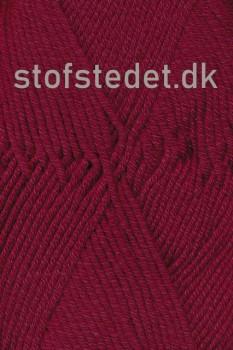 Merino Cotton - Uld/bomuld i Bordeaux