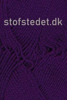 Hjertegarn | Merino Cotton - Uld/bomuld i Mørkelilla