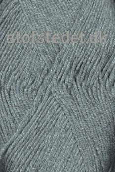 Hjertegarn | Merino Cotton - Uld/bomuld i Grå