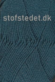 Hjertegarn | Merino Cotton - Uld/bomuld i Mørk petrol-grøn