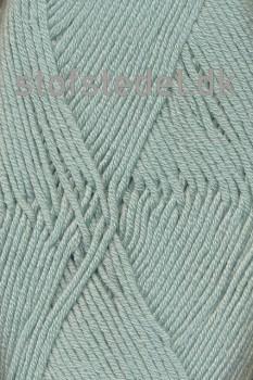 Merino Cotton - Uld/bomuld i Lys støvet grøn
