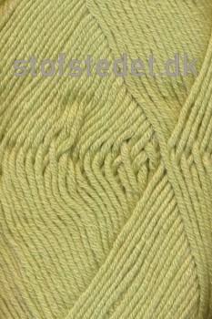 Hjertegarn | Merino Cotton - lys gul-grøn fv.525