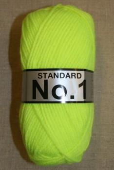 Acrylgarn No 1, neon gul